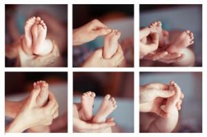 Reflexologie voor baby's en kinderen